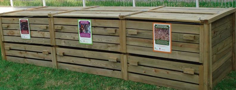 Bacs de compostage